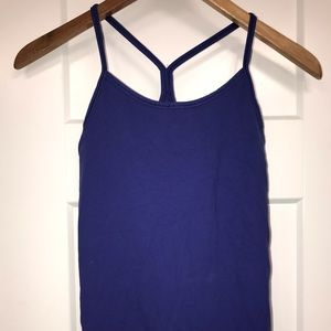 Y strap work out tank
